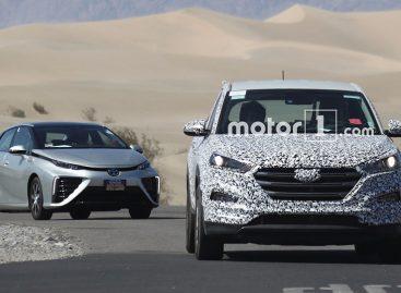 Hyundai тестирует новую водородную модель