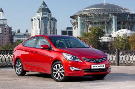 Hyundai Solaris опять стал лидером на рынке Москвы