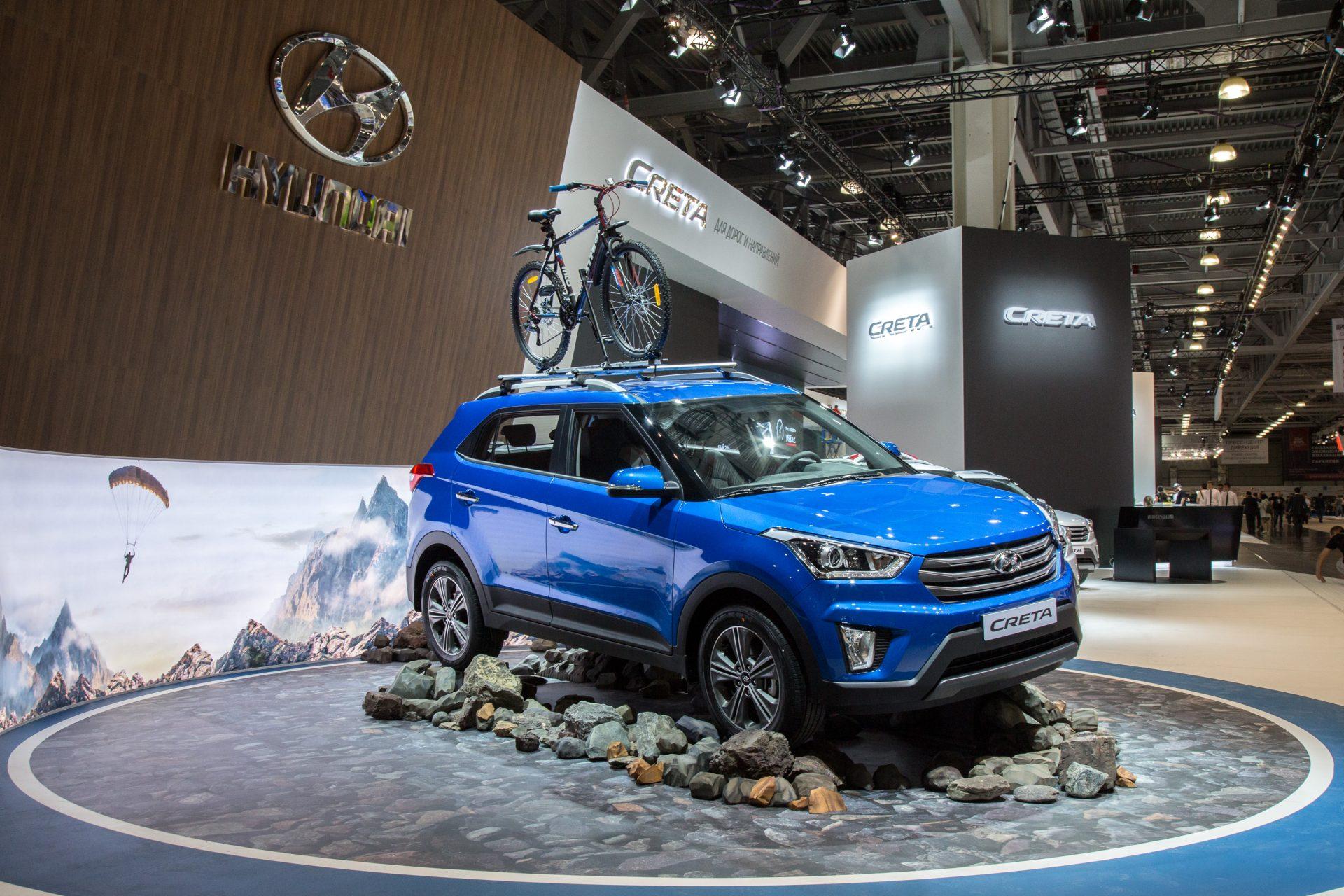 Hyundai Creta Московский автосалон 2016