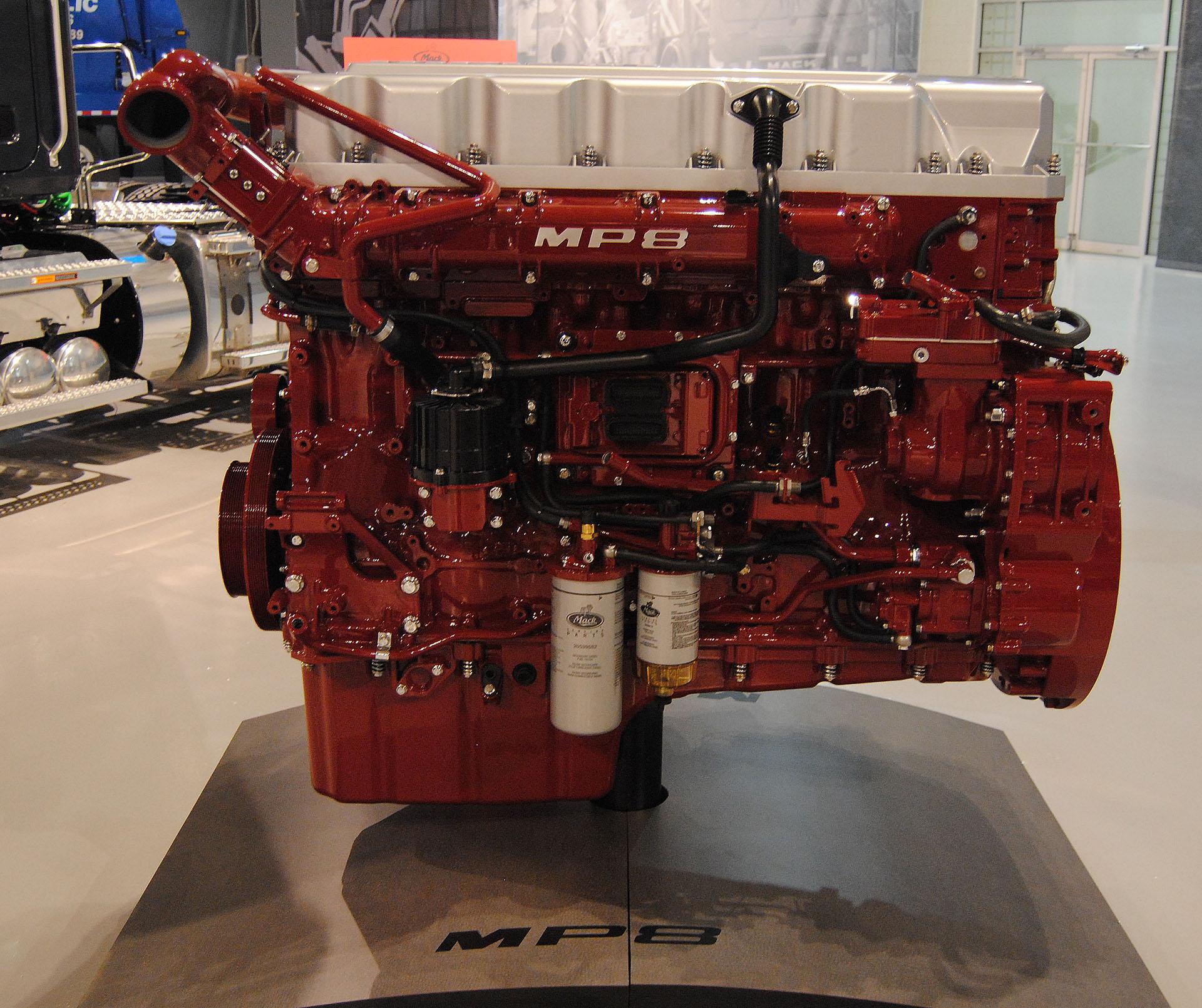 Mack MP8 Engine