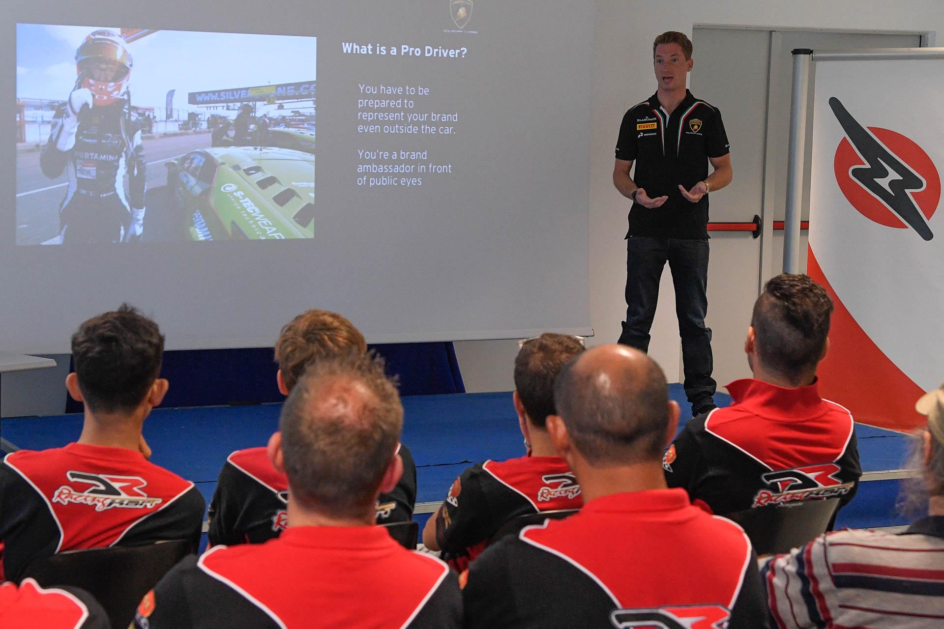 Lamborghini Squadra Corse программа подготовки молодых картингистов