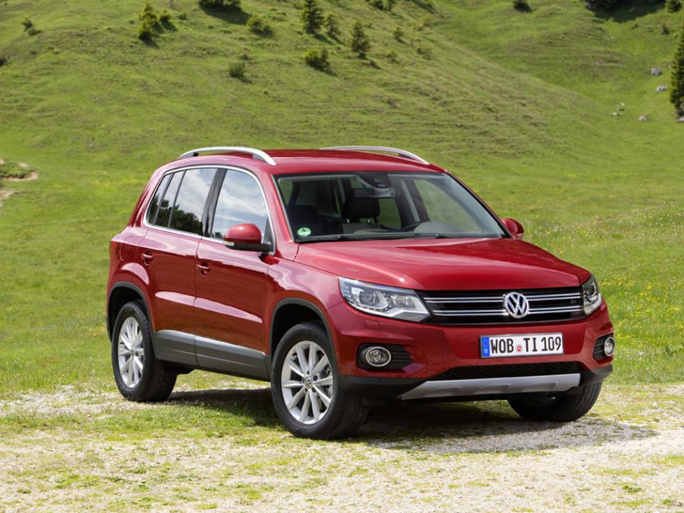 Новый VW Tiguan прибудет в РФ ссамого начала 2017