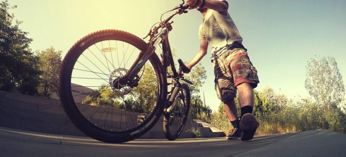 Подушка безопасности для велосипедистов
