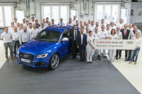 Выпущен миллионный Audi Q5
