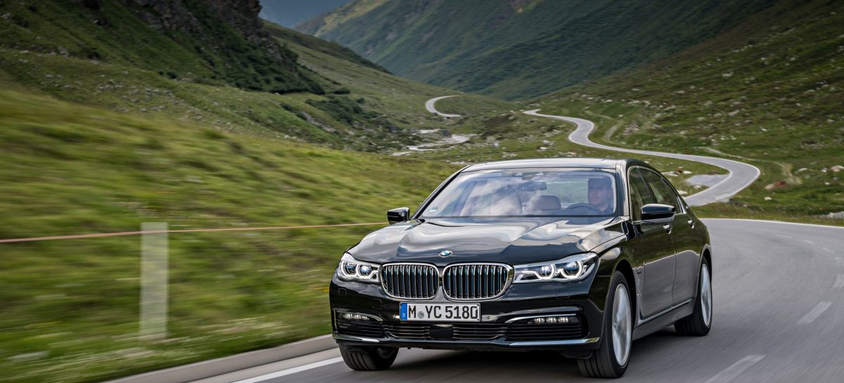 Гибридный седан BMW 740e xDrive iPerformance вышел на рынок США