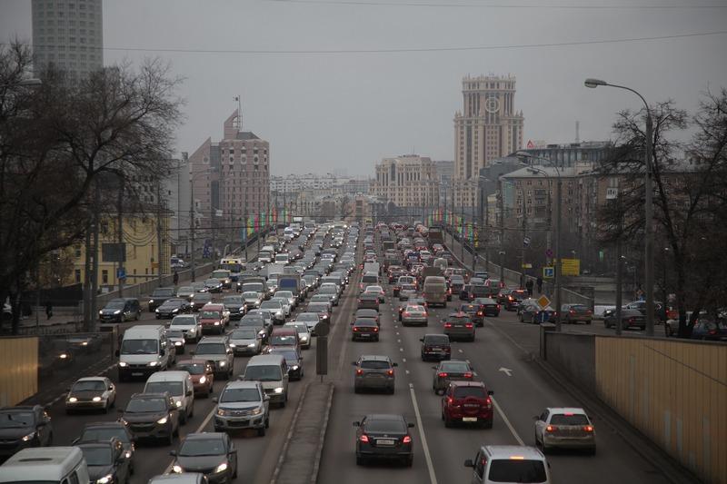 Москва пробки
