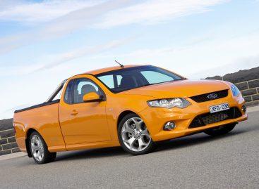 Последний спортпикап Ford в Австралии