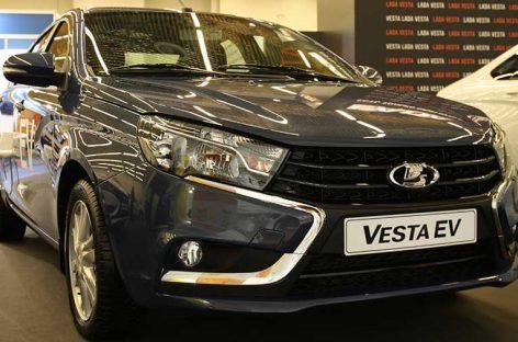 Электрическая Lada Vesta EV появится в продаже через 2 года