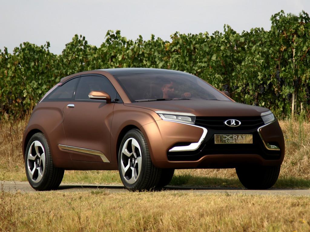Первый концепт Lada XRAY