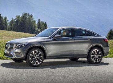 Mercedes-Benz GLC Coupe появится в России в этом году