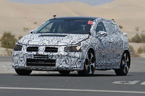Volkswagen начал тесты нового поколения Polo