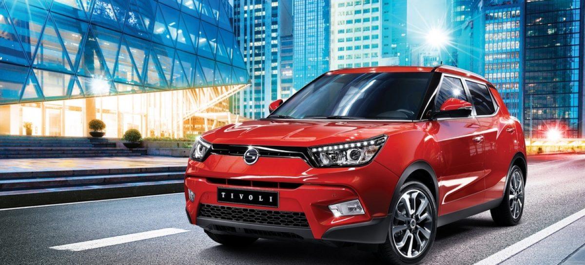 SsangYong в ноябре выведет на российский рынок две модели