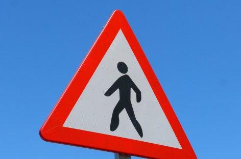 Примерно треть «зебр» возле школ в России используется с нарушениями