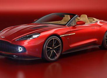 Aston Martin презентовал родстер Vanquish Zagato Volante