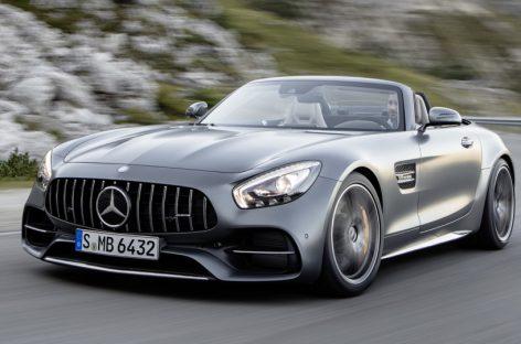Mercedes представил AMG GT Roadster