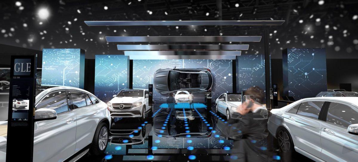 Mercedes представит около 30 моделей на Парижском автосалоне
