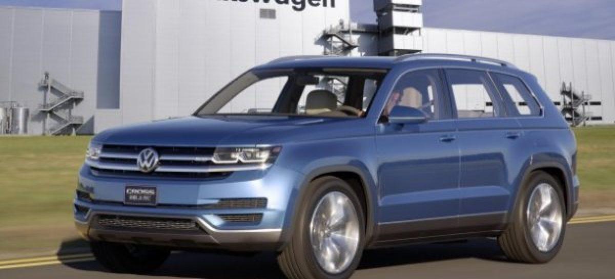 Премьера семиместного кроссовера Volkswagen состоится уже осенью
