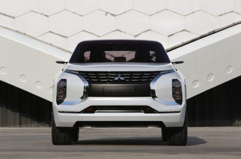 Премьера концепта Mitsubishi Ground Tourer-PHEV