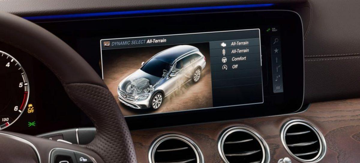 Mercedes представил модель E-Class Estate All-Terrain