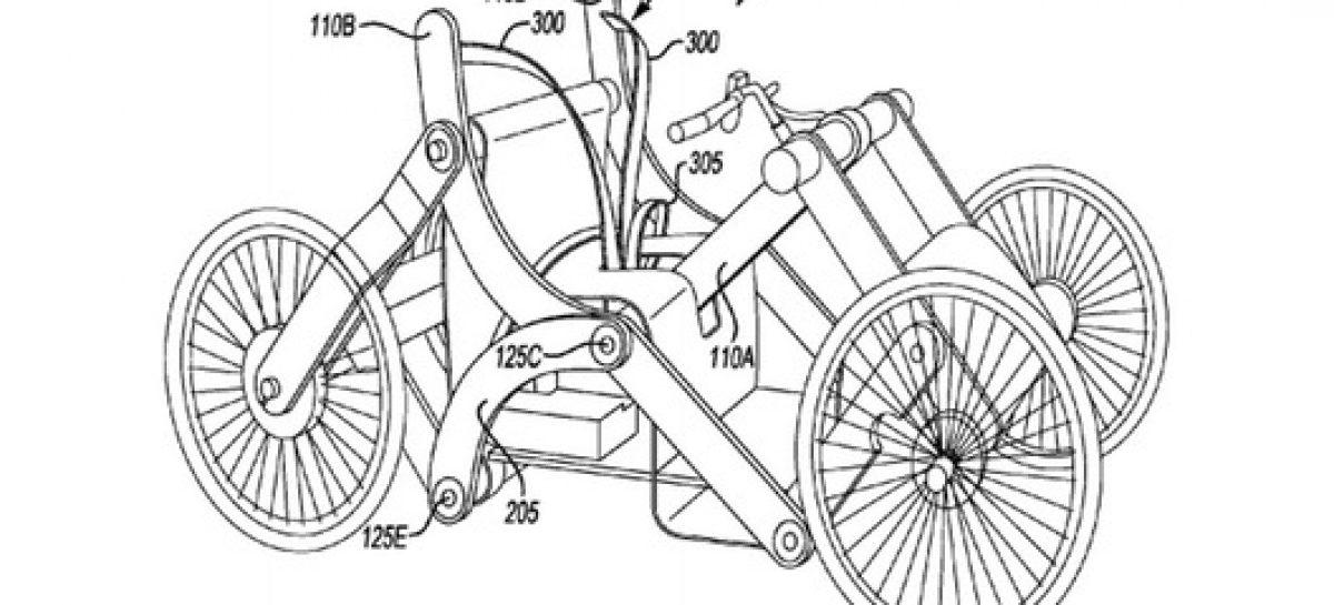 Ford запатентовал складной автомобиль
