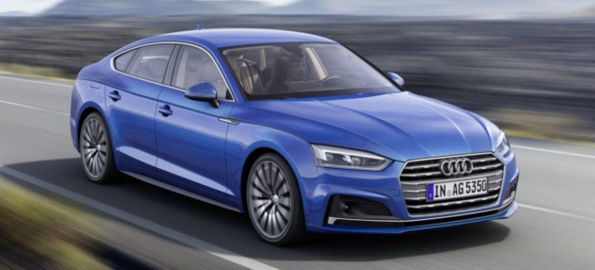 Audi представила новые A5 Sportback и S5 Sportback