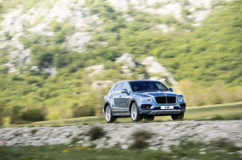 Вышла Bentley Bentayga Diesel