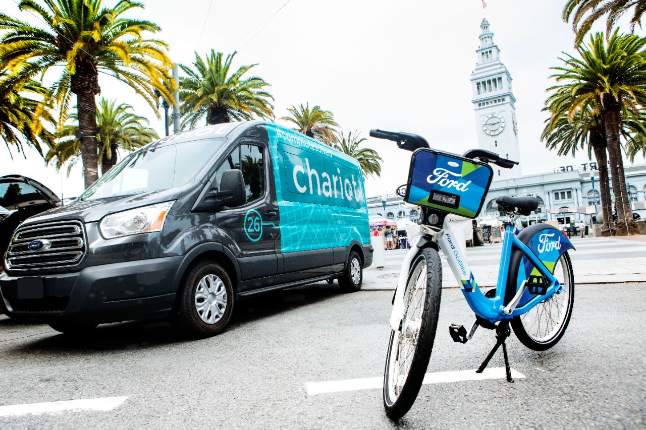 chariot ford go bike