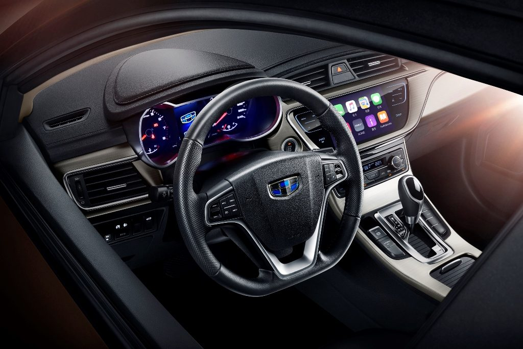 Geely Emgrand GL.