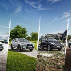 Сезон внедорожников и кроссоверов у Lexus