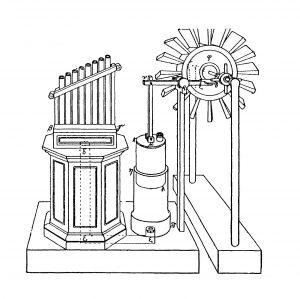 античная паровая турбина
