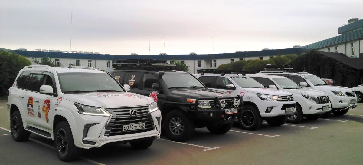 Автомобили ушли в Африку