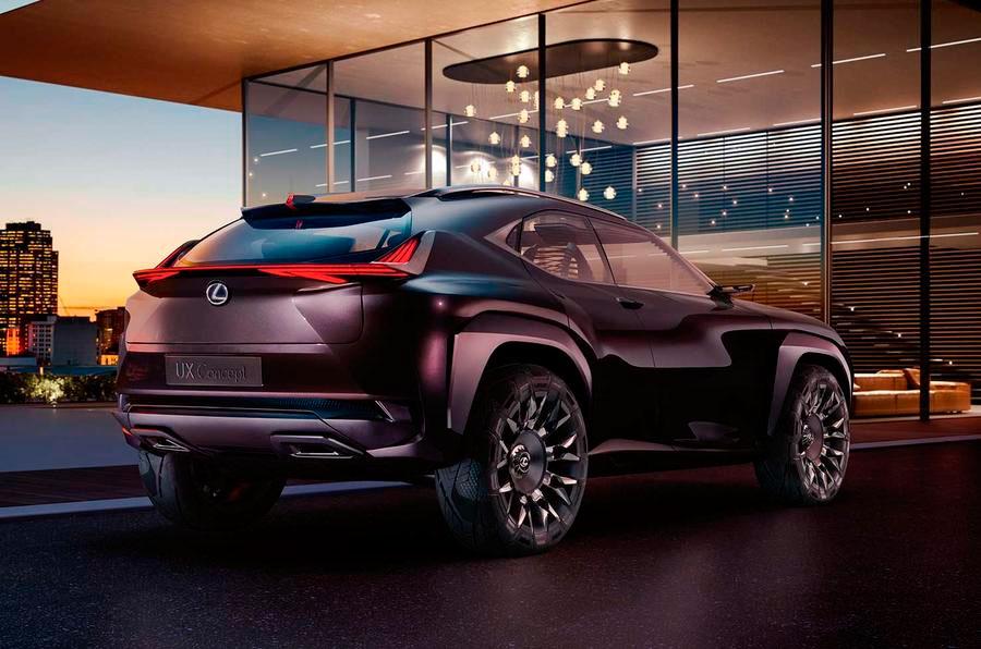 Лексус представит концептуальный автомобиль спорт-кроссовераUX встолице франции