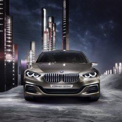 Появились новые фото седана BMW 1 Series