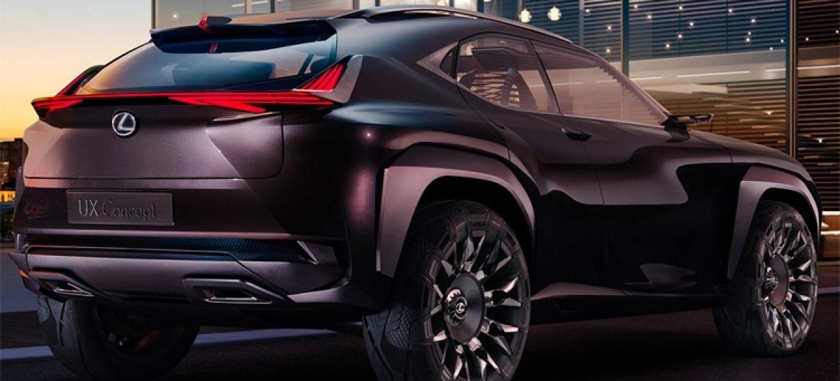 Lexus UX покажет водительское место будущего