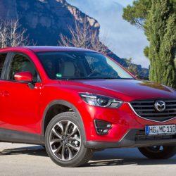 Mazda CX-5 подвели тормоза