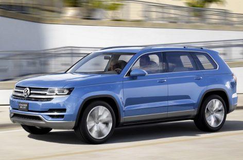 Volkswagen Teramont – в этом году в России