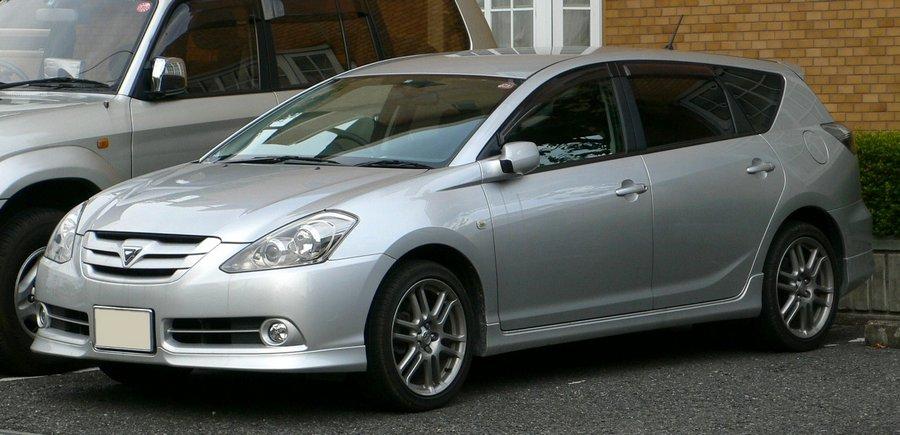 Toyota Caldina правы руль
