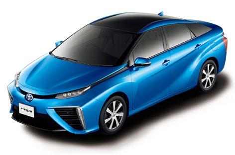 В Японии начато серийное производство автомобилей, работающих на воде