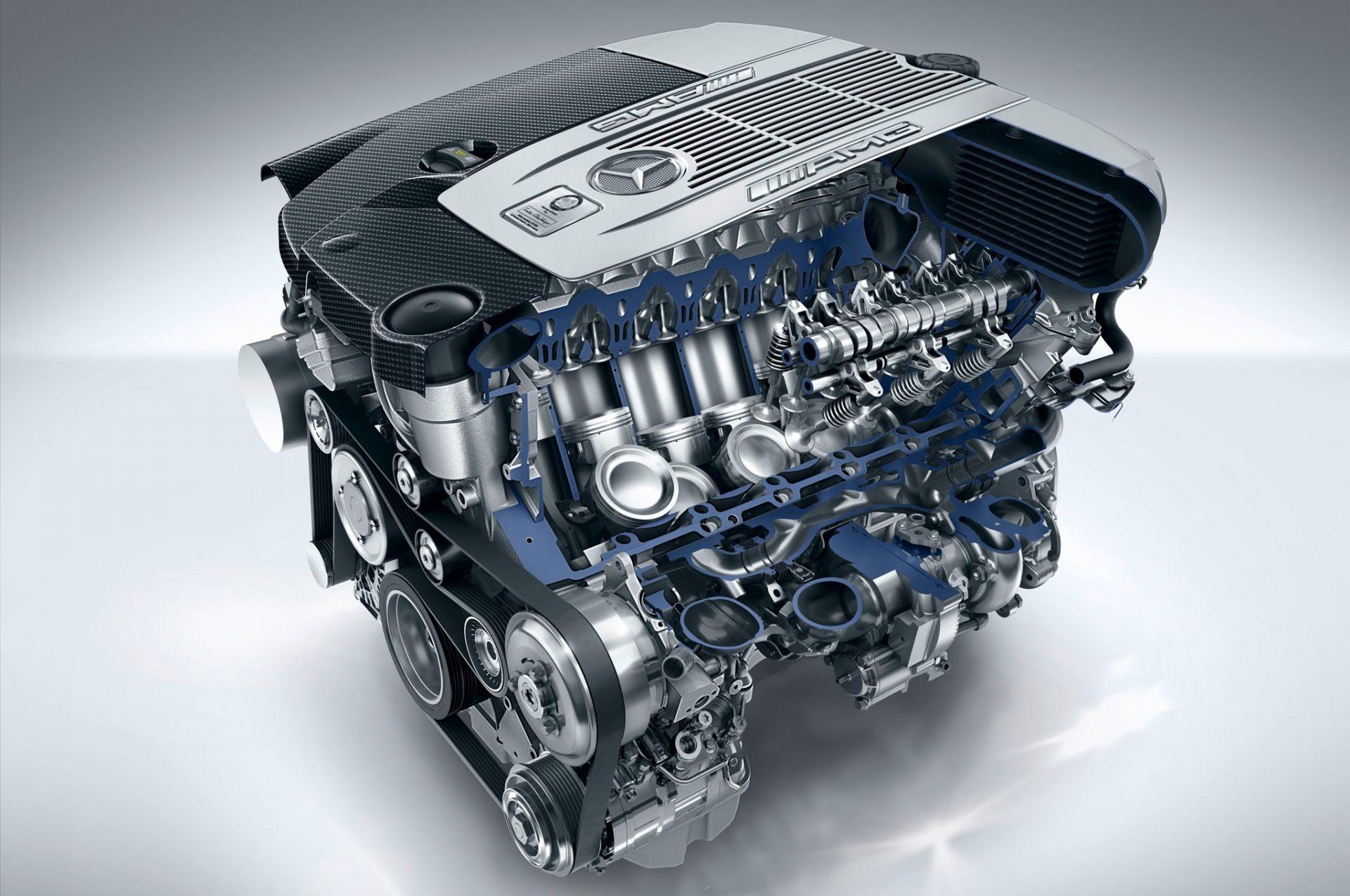Сборка двигателя mercedes amg 63