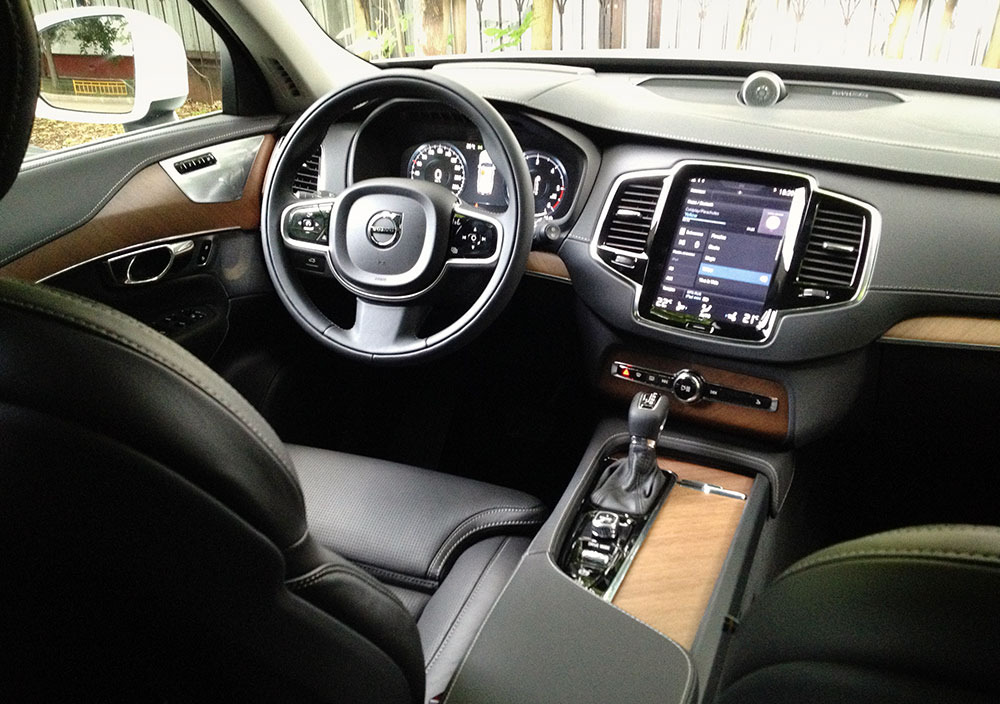Салон Volvo XC90