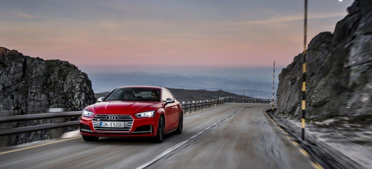 Новый Audi S5 Coupé уже в продаже