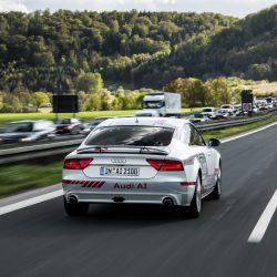 Audi представляет новые технологии автопилотирования