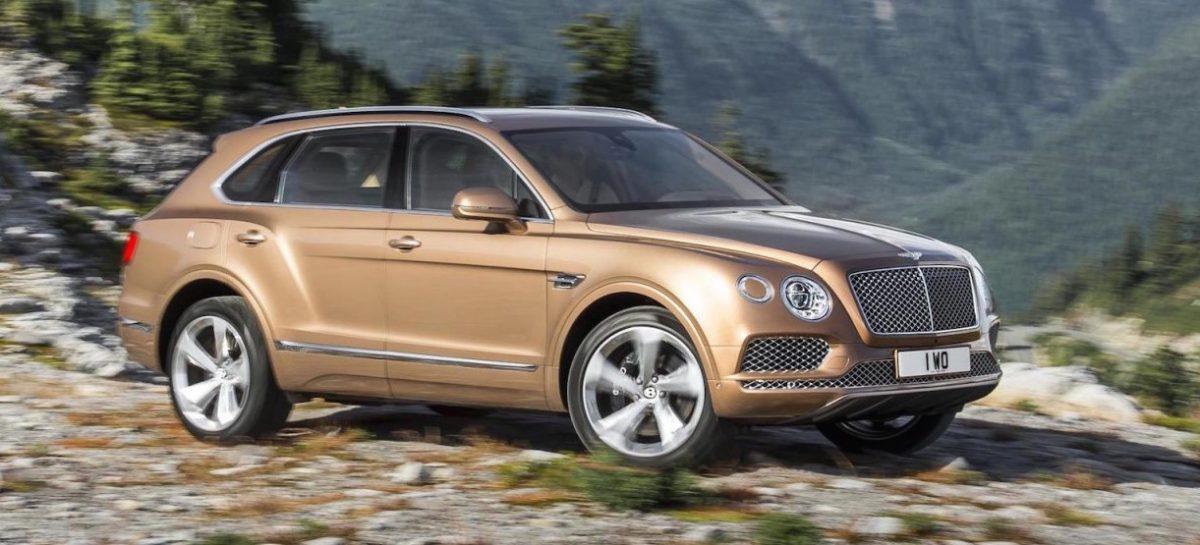 Продажи Bentley в России увеличились наполовину