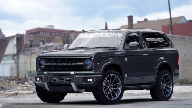 Ford Bronco 2016 render