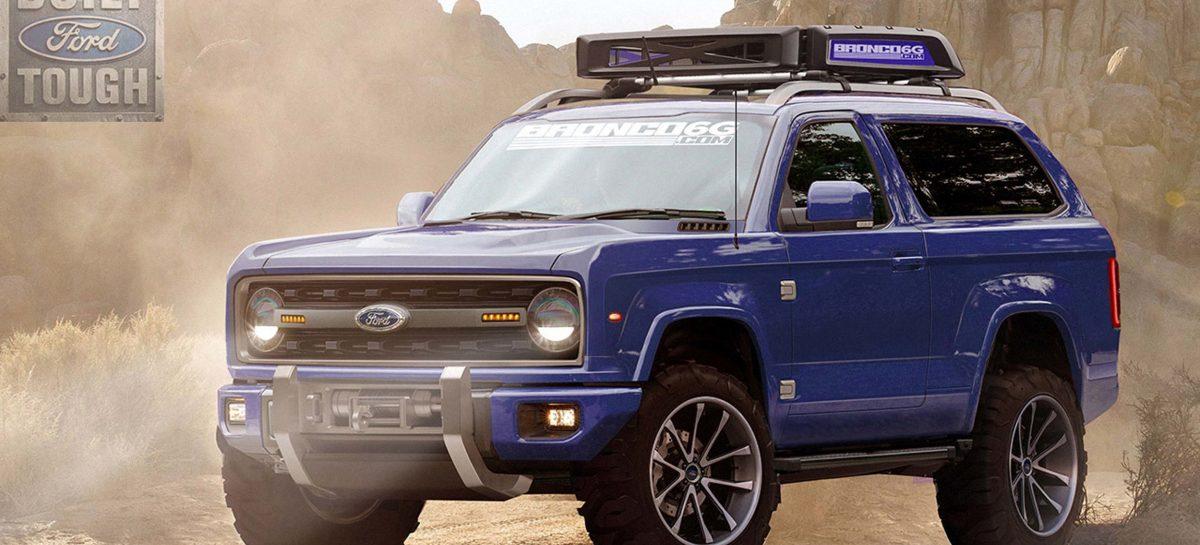 Ford Bronco возвращается