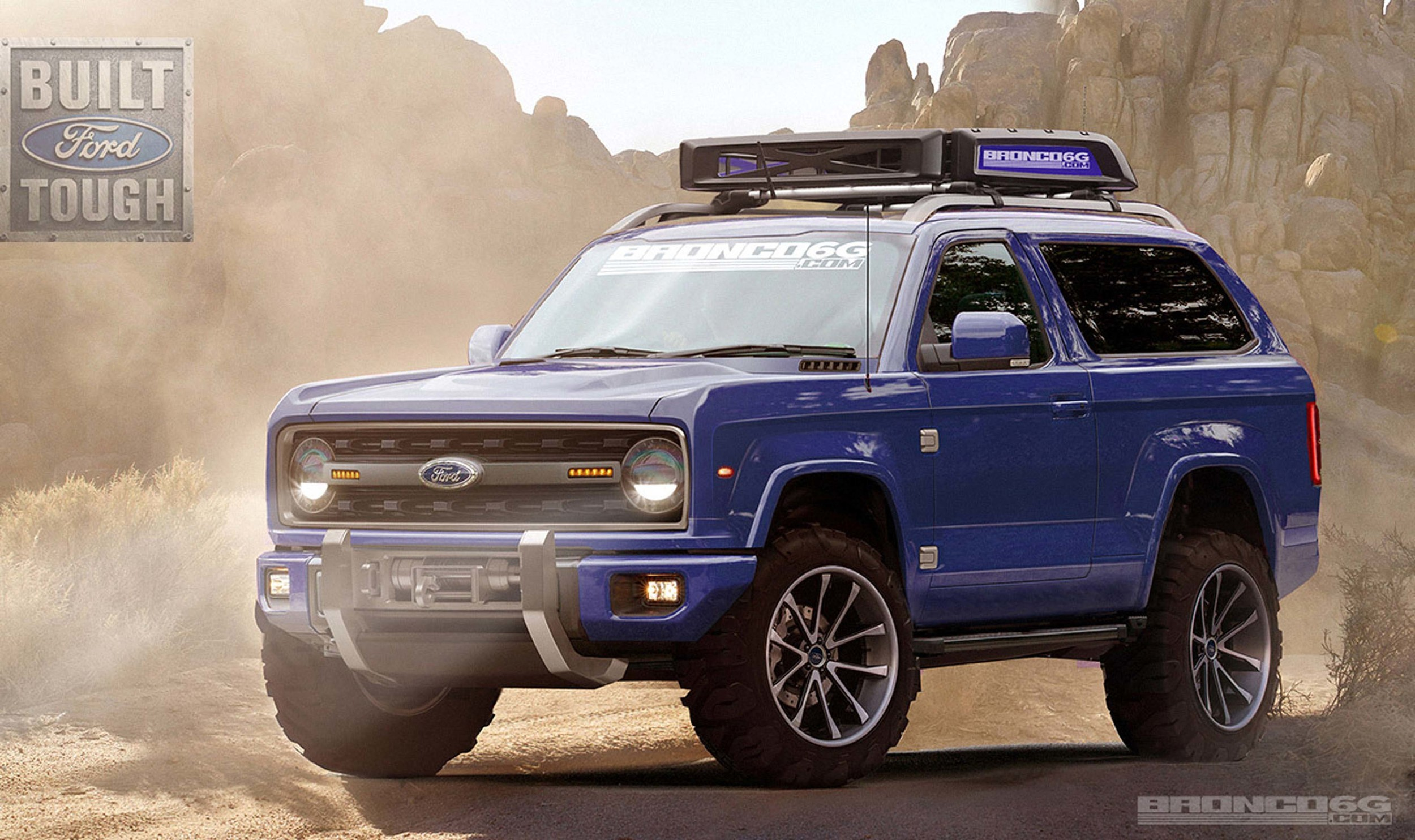 Ford Bronco 2016 render