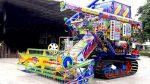 Мега Машины: Причудливые азиатские комбайны и тракторы