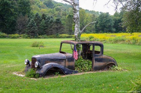 Старые автомобили на улицах Нью-Йорка — 27