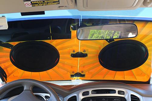 Барнэкл желтый щит против парковки Barnacle
