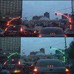 А вы бы как реагировали на такой светофор?